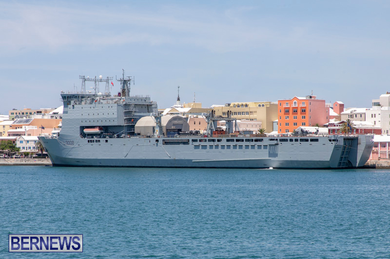 RFA Mounts Bay Bermuda, May 18 2019-6733