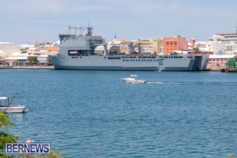 RFA Mounts Bay Bermuda, May 18 2019-6736
