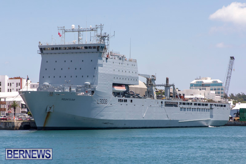 RFA Mounts Bay Bermuda, May 18 2019-6751
