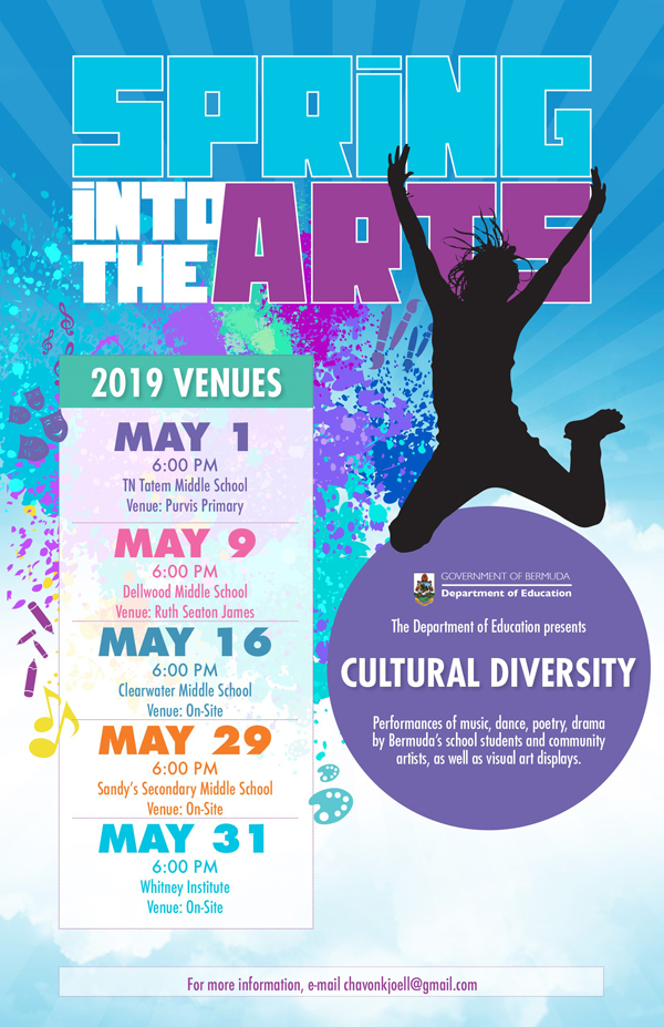 Spring Into the Arts Bermuda May 2019