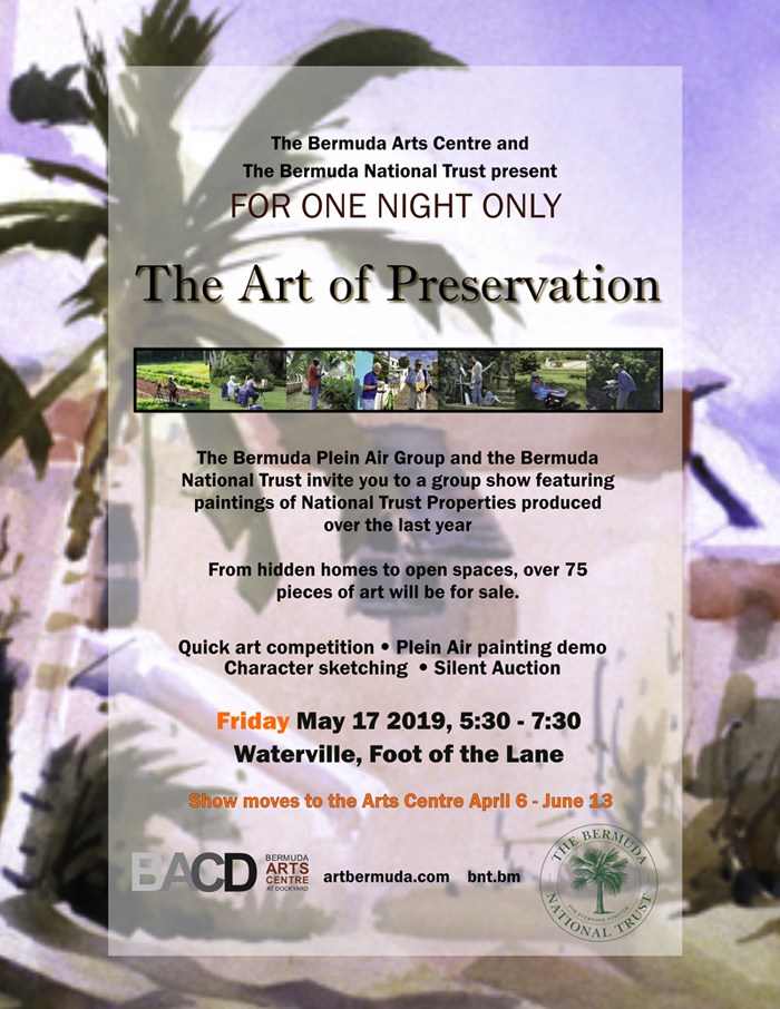 The Art of Preservation Bermuda May 2019