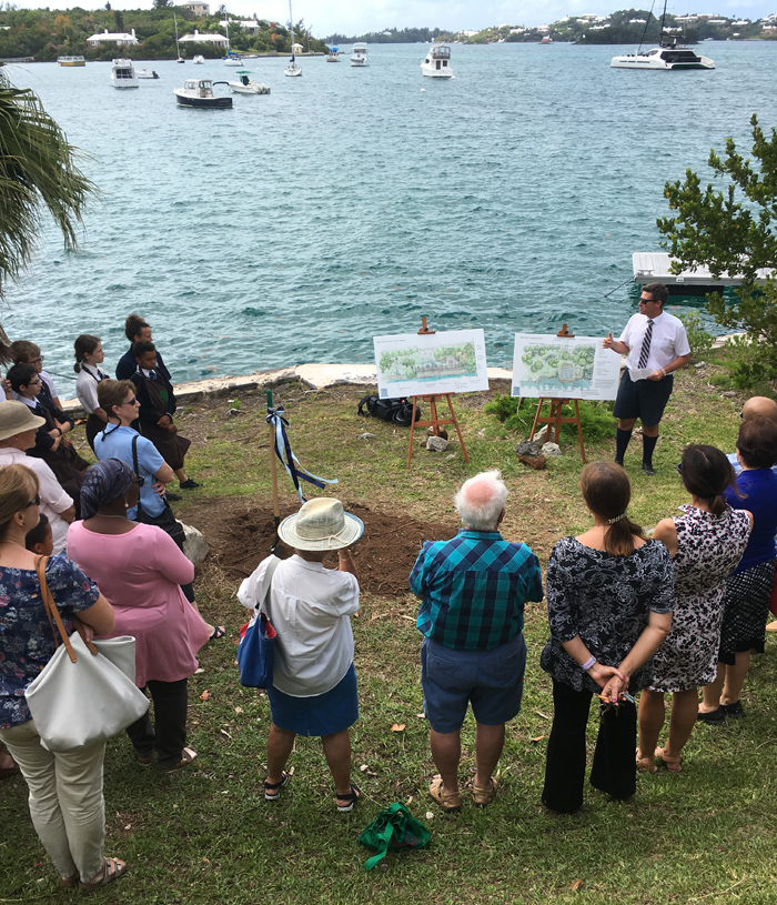 Warwick Academy Marine Science Facility Ground Breaking Bermuda May 2019 (3)