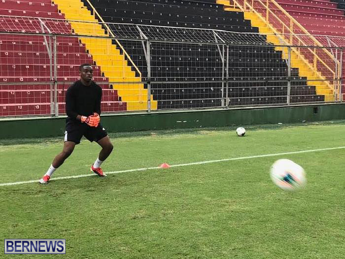 Bermuda Football Team training in Costa Rica June 14 2019 (2)