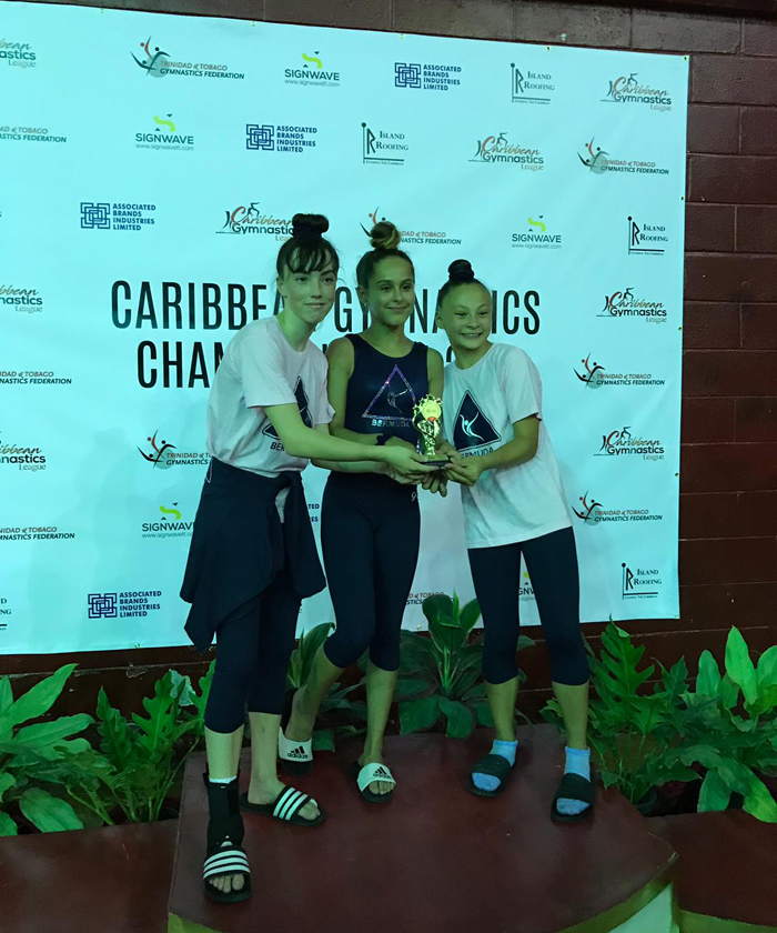 Bermuda Gymnasts Excel At Caribbean Champtionship June 2019 (10)