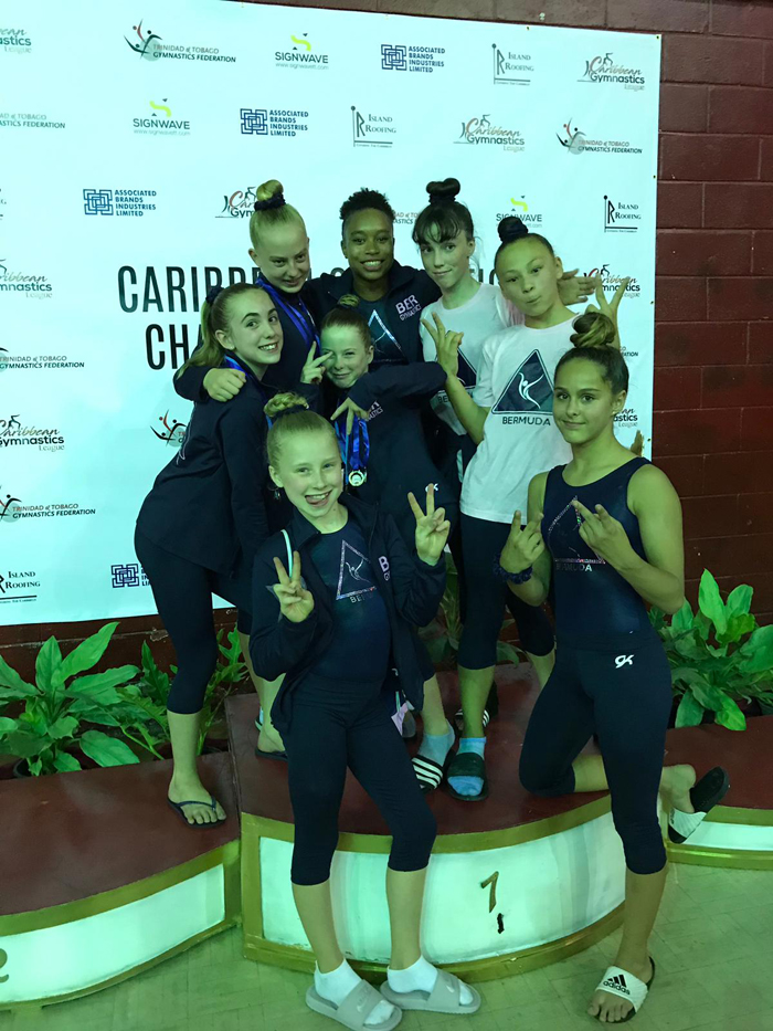 Bermuda Gymnasts Excel At Caribbean Champtionship June 2019 (12)
