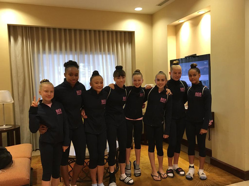 Bermuda Gymnasts Excel At Caribbean Champtionship June 2019 (2)