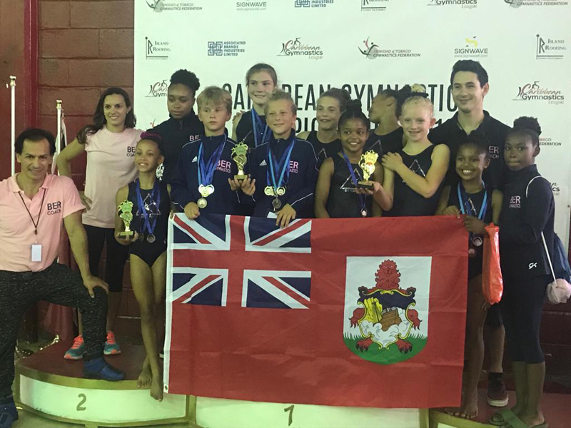 Bermuda Gymnasts Excel At Caribbean Champtionship June 2019 (7)
