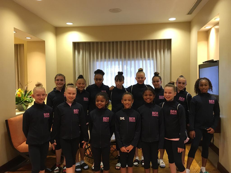 Bermuda Gymnasts Excel At Caribbean Champtionship June 2019 (8)