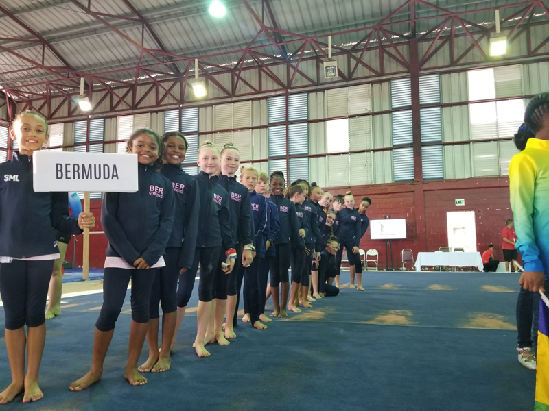 Bermuda Gymnasts Excel At Caribbean Champtionship June 2019 (9)