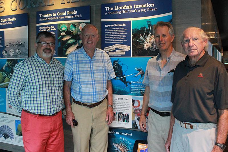 Bermuda Lionfish Task Force Donates To BZS June 2019 (1)