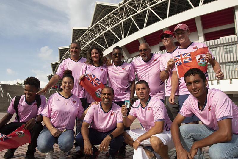 Bermuda Tennis Team June 2019
