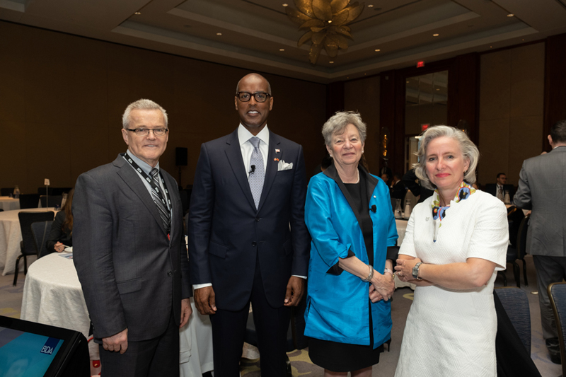 Bermuda delegation visit to Toronto June 2019 (1)