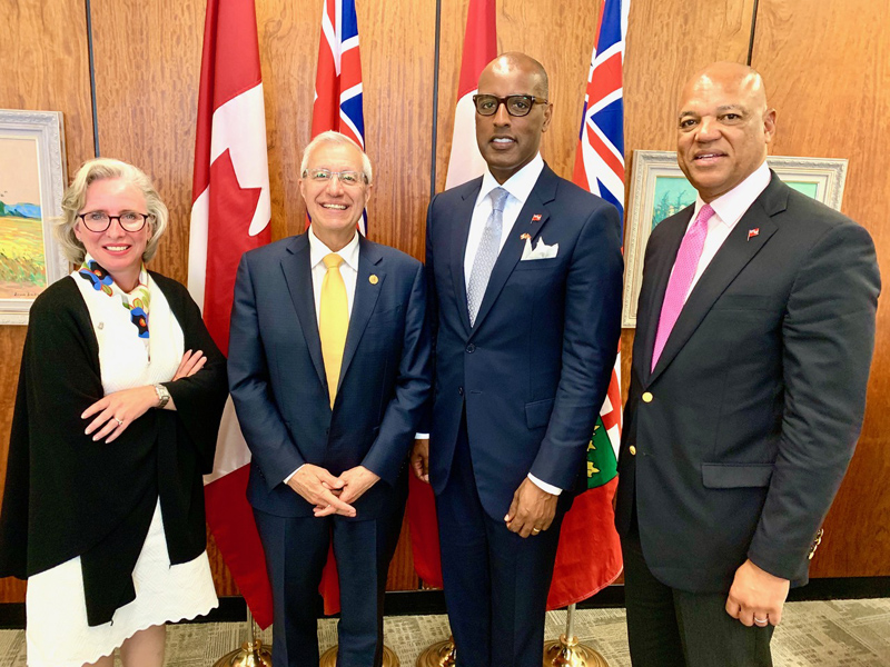 Bermuda delegation visit to Toronto June 2019 (2)