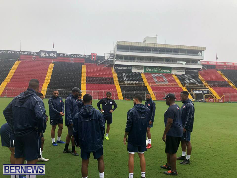 Bermuda football team training session June 2019 (8)