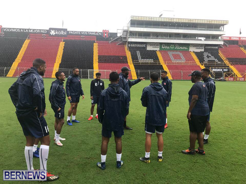 Bermuda football team training session June 2019 (9)