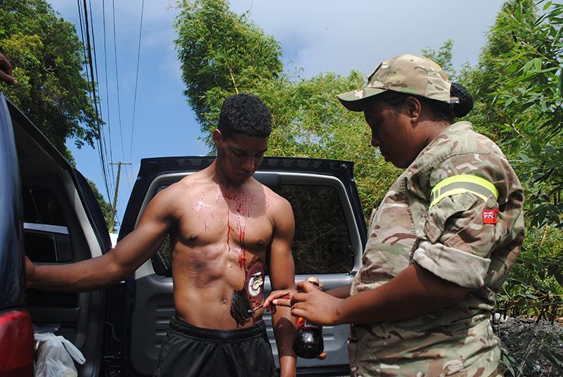 Bermudian soldiers Bermuda June 18 2019 (1)