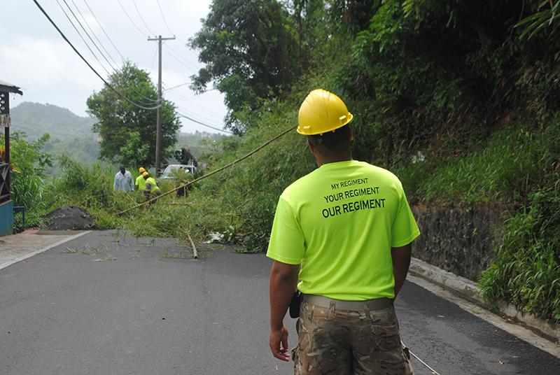 Bermudian soldiers Bermuda June 18 2019 (2)