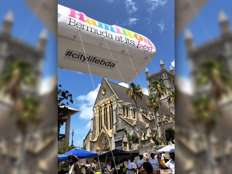 City of Hamilton Balloon Bermuda June 2019 (1)