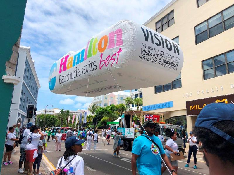 City of Hamilton Balloon Bermuda June 2019 (2)
