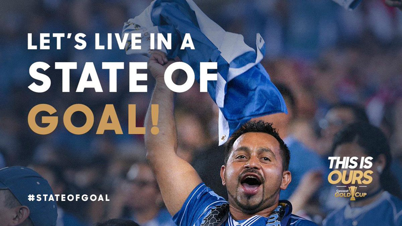 Concacaf Let's Live In A State Of Goal June 2019
