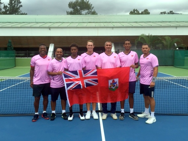 Davis Cup team Bermuda June 2019