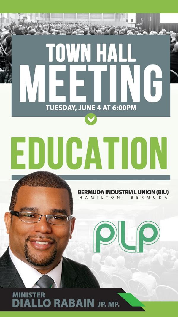 Education Town Hall Meeting Bermuda June 2019  (1)