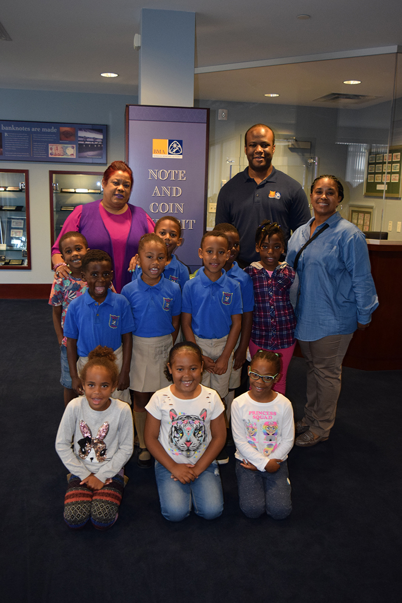 Elliot Primary School BMA Tour Bermuda June 2019