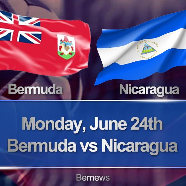 Football Bermuda vs Nicaragua 45452