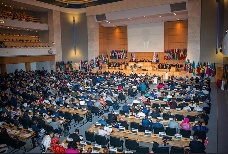 ILO Session Hall Bermuda June 2019