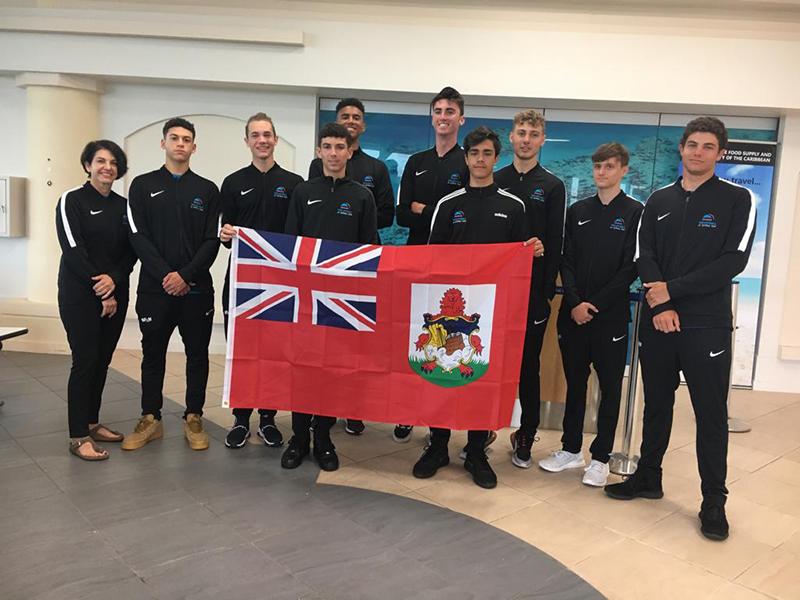 Junior Volleyball Team Bermuda June 2019