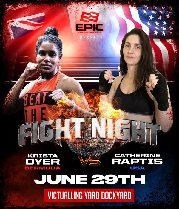 Krista Dyer vs Catherine Raptis Bermuda June 2019