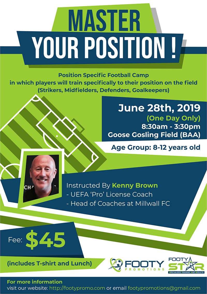 Master Your Position Football Camp & Training Bermuda June 2019 (1)