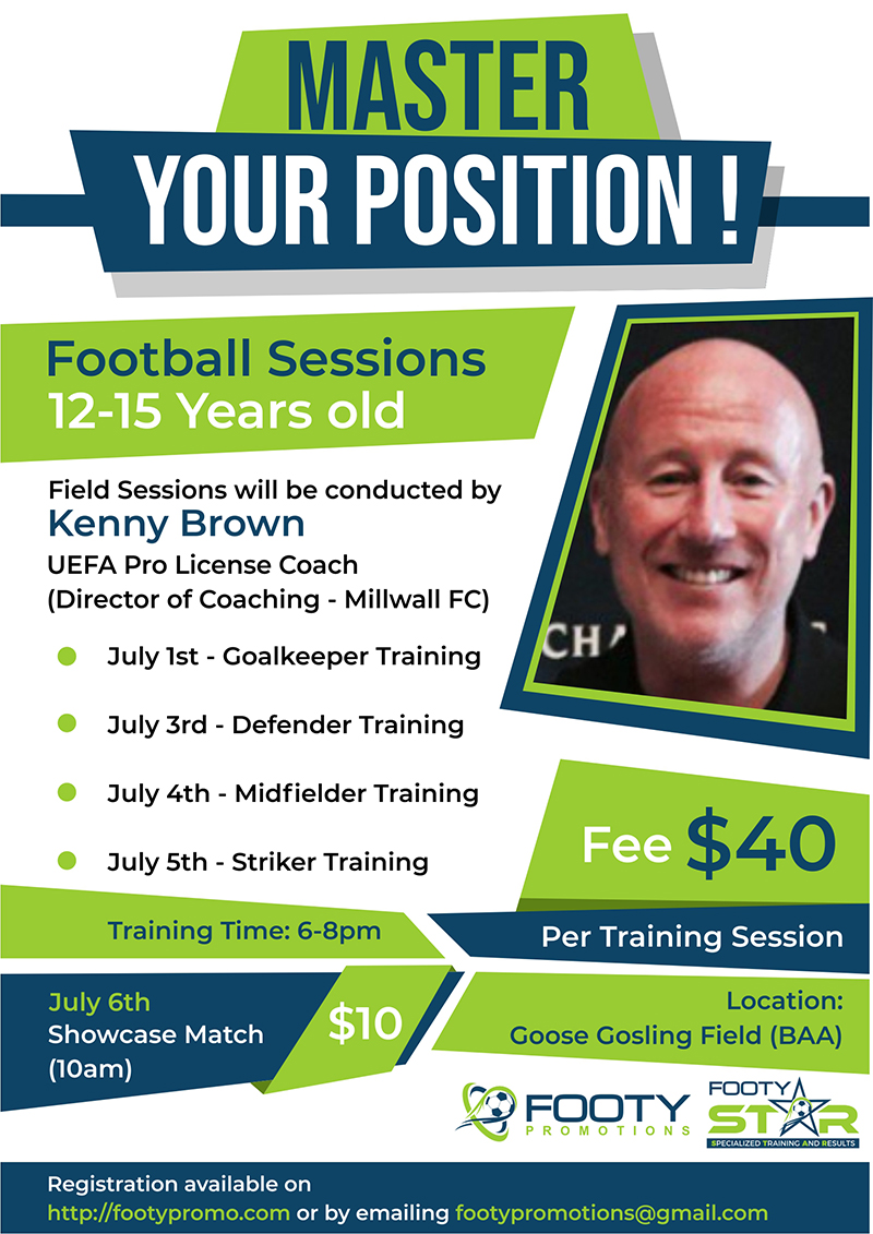 Master Your Position Football Camp & Training Bermuda June 2019 (2)