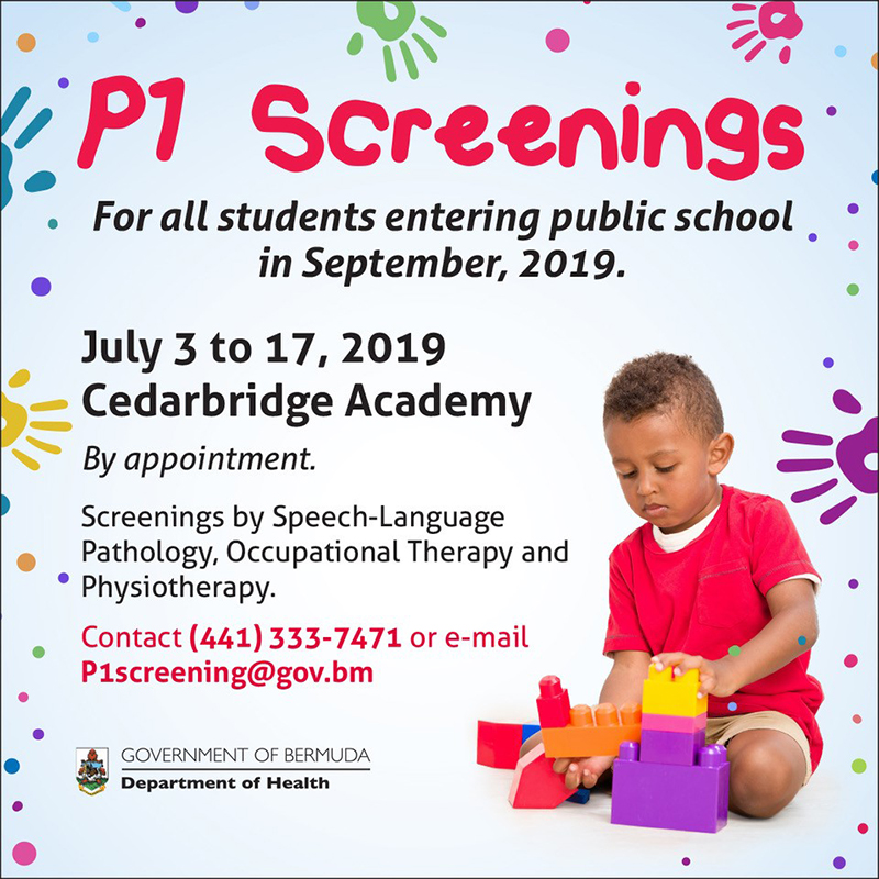 P1 Screening Bermuda June 23 2019