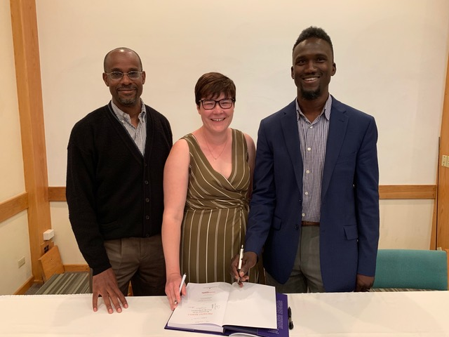 PR Authors Dr. Clarence Maxwell, Alexandra Mairs-Kessler, & Dr. Theodore Francis Bermuda June 2019