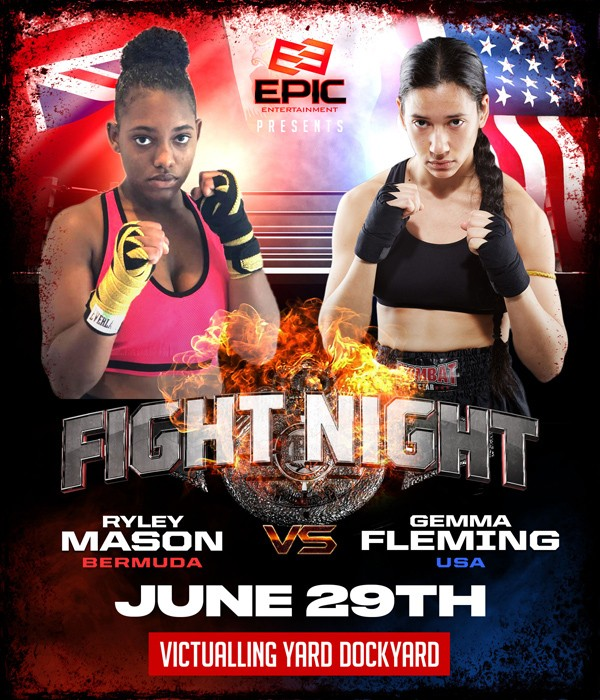 Ryley Mason vs Gemma Fleming Bermuda June 2019