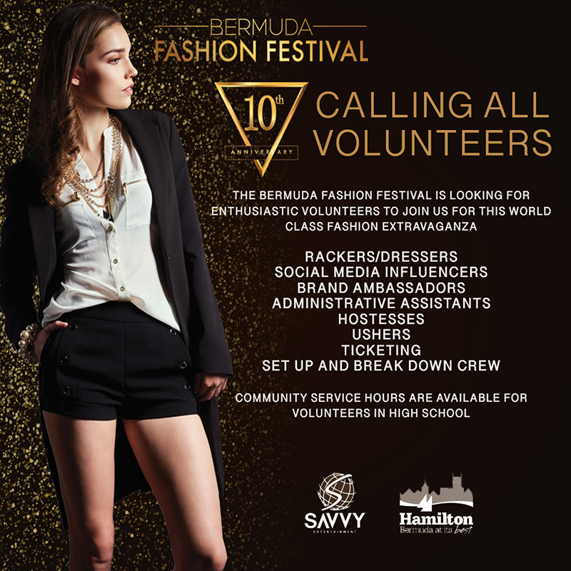 The Bermuda Fashion Festival Calls For Volunteers June 2019