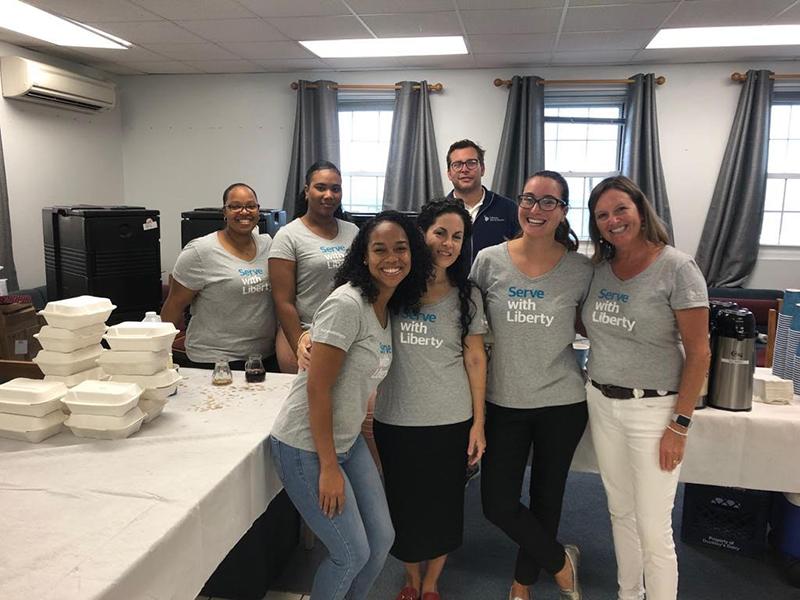 Volunteers From Liberty Specialty Markets Bermuda June 2019