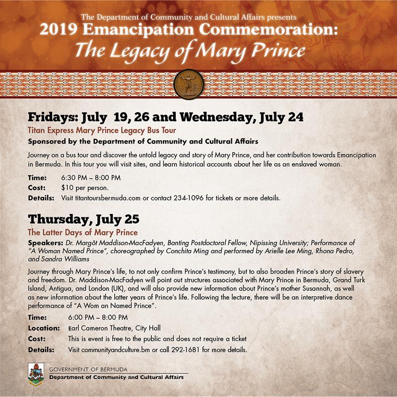 2019_Emanicipation Celebration Bermuda July 19 2019