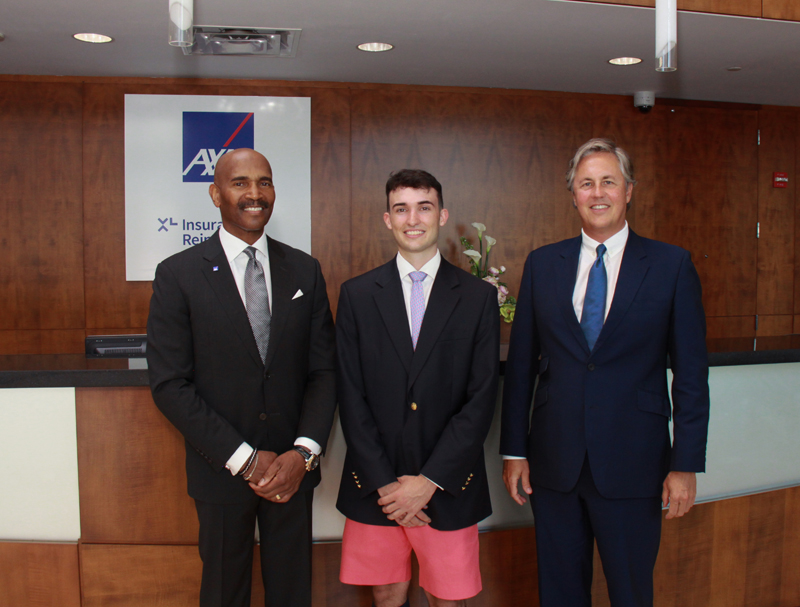 AXA XL Scholar with Bermuda Leaders July 2019
