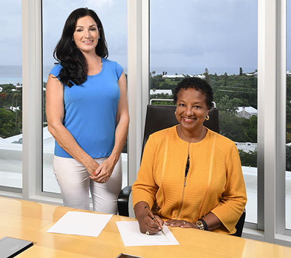 BHB and Friends of Hospice MOU Bermuda July 2019 (2)
