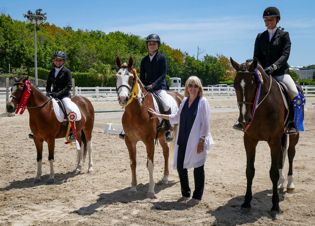 Bermuda CEA Dressage Children Team July 2019