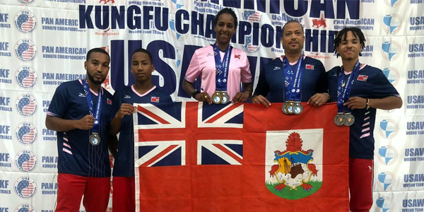 Bermuda Sanshou Association July 15 2019 TWFB