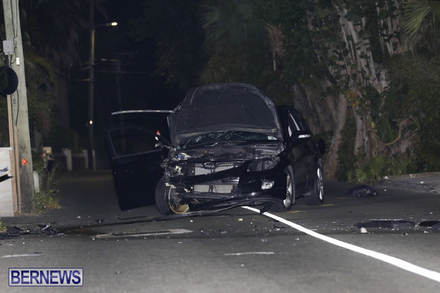 Car Collision Paget Bermuda, July 14 2019 (2)