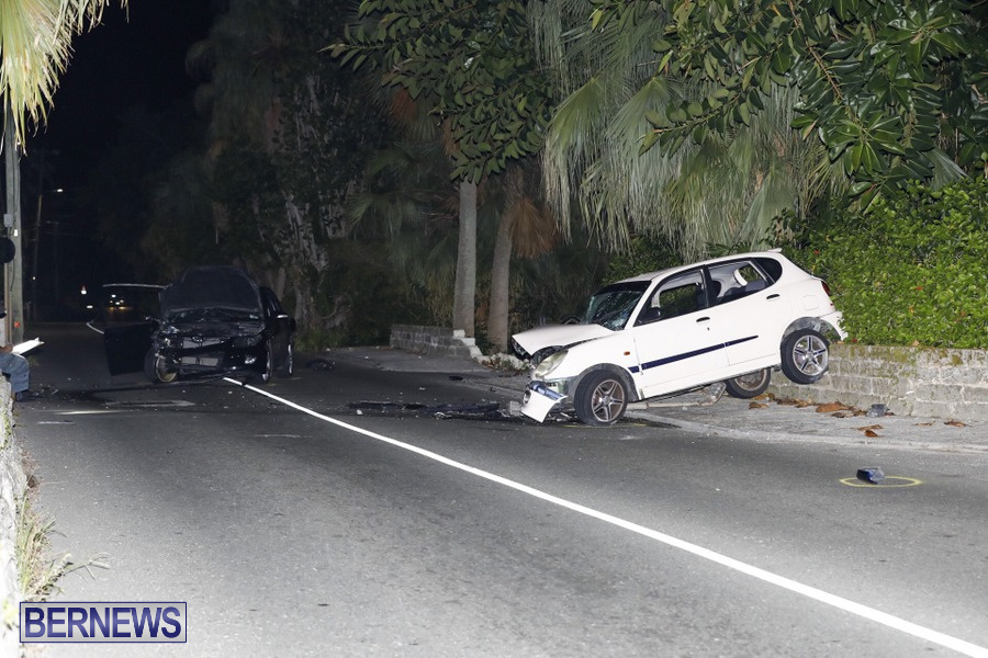 Car Collision Paget Bermuda, July 14 2019 (3)