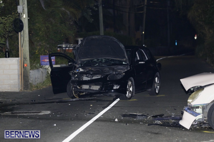 Car Collision Paget Bermuda, July 14 2019 (7)