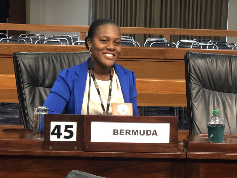 Chrysda Smith Bermuda July 2019