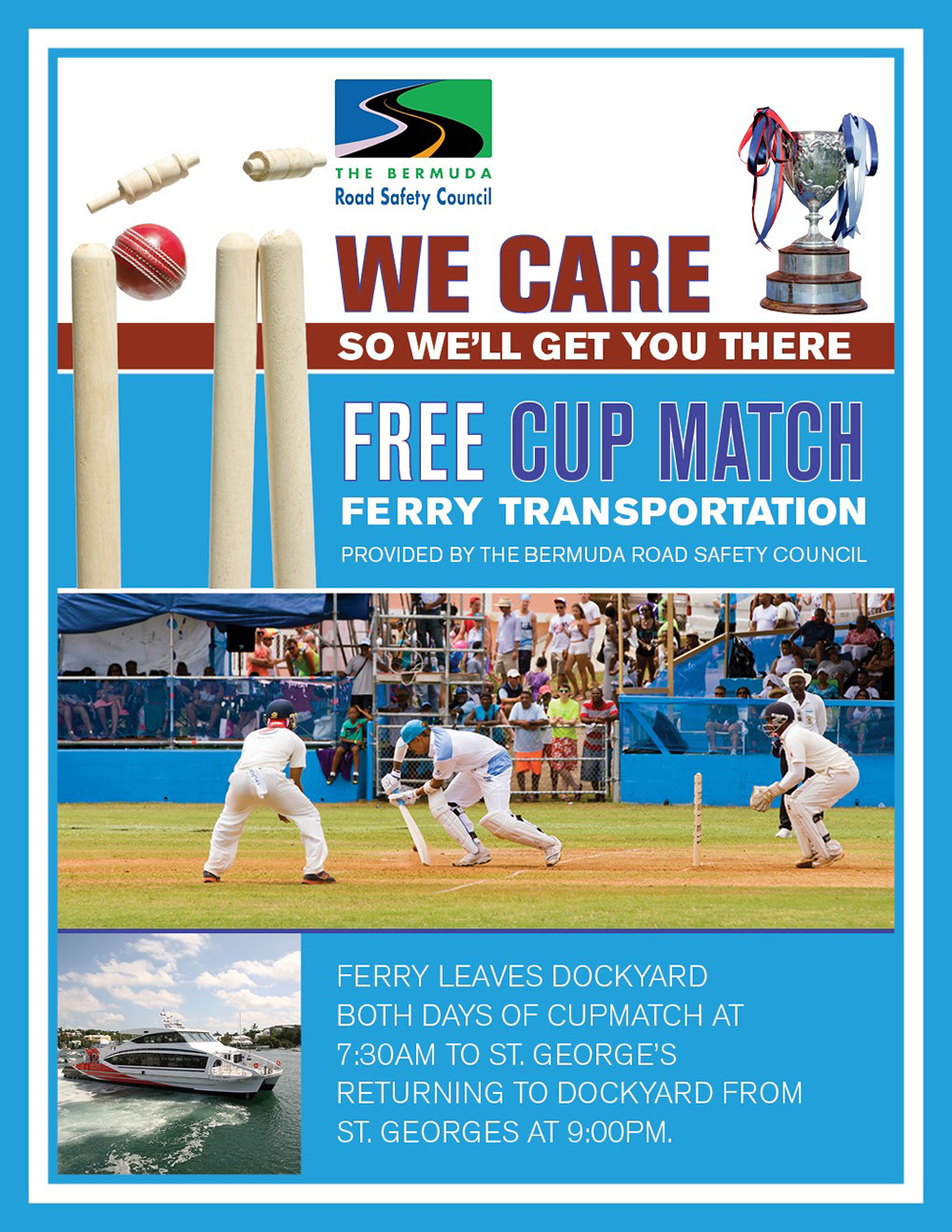Cup Match Ferry Bermuda July 31 2019