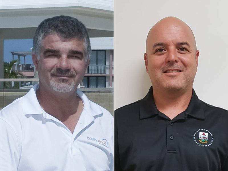 Germano Botelho and Joseph Carolo Bermuda July 2019