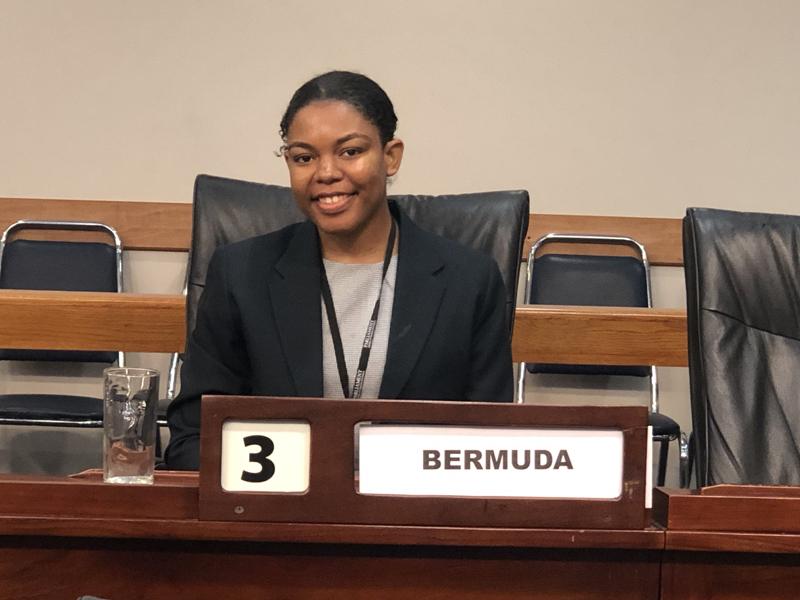 Halle Teart Bermuda July 2019